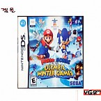 [NDS]MARIO SONIC OLYMPIC WINTER GAMES  북미발매 중고상품 상태 A급