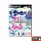 [PS2] 올스타 베이스볼 2002  정식발매 중고상품 상태 A급