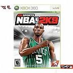 [XBOX360]NBA 2K9-정식 병행 아시아  정식발매 중고상품 상태 A급
