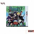 [3DS]  EtRIAN Odyssey 4  북미발매 중고상품 상태 A급