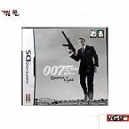 [NDS] 007 퀀텀 오브 솔러스 정식발매 중고상품 상태A급