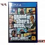 [PS4] GTA 5  정식발매 중고상품 상태 A급