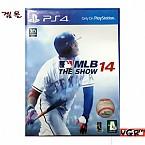 [PS4] MLB 14  정식발매 중고상품 상태 A급