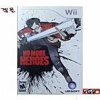 [Wii] NO MORE HEROES 북미발매 중고상품 상태 A급