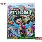 [Wii] CARNIVAL MINIGOLF  북미발매 중고상품 상태 A급