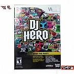 [Wii] DJ HERO  북미발매 중고상품 상태 A급