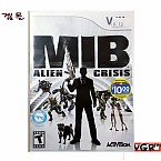 [Wii] MIB ALIEN CRISIS 북미발매 중고상품 상태 A급