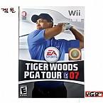 [Wii] TIGER WOODS PGA TOUR 07  북미발매 중고상품 A급