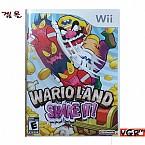 [Wii] WARIO LAND SHAKEIT  북미발매 중고상품 상태 A급