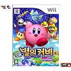[Wii] 별의 커비 한글판  정식발매 중고상품 상태 A급