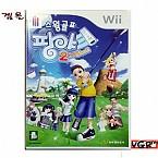 [Wii] 스윙 골프 팡야 2nd 샷  정식발매 중고 상태A급