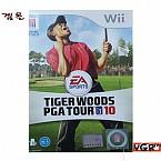 [Wii] 타이거우즈 PGA 투어 10 정식발매 중고 상태A급