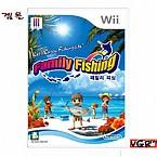 [Wii] 패밀리 피싱 정식발매 중고상품 상태 A급