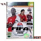 [XBOX] 피파 2005 정식발매 중고상품 상태 A급