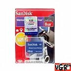 [PSP] SanDisk 8GB 메모리스틱 프로 듀오 (중고)