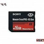 [PSP] Sony 정품 16GB 메모리스틱 프로 듀오 (중고)