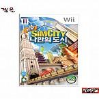 [Wii] 뉴 심시티 나만의 도시 정식발매판 중고A급