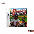 [NDS] Backuard BASEBALL 중고A급 북미판