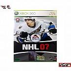 [XBOX360] NHL 07  정발판 중고 A급