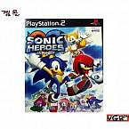 [PS2] 소닉 히어로즈 정식발매판 중고A급