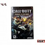 [PSP] CALL OF DUTY ROADS TO VICTORY 북미판  중고A급