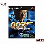 [PS2] 007 나이트 파이어  정식발매판 중고A급
