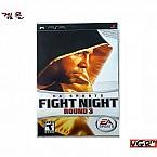 [PSP] FIGHT NIGHT ROUND 3  북미판  상태 A급