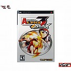 [PSP] STREET FIGHTER ALPHA 3 NAX  북미판  상태 A급