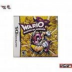 [NDS] WARIO MASTER OF DISGUISE   중고A급 북미판