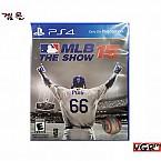 [PS4] MLB 15 THE SHOW 북미판 중고A급