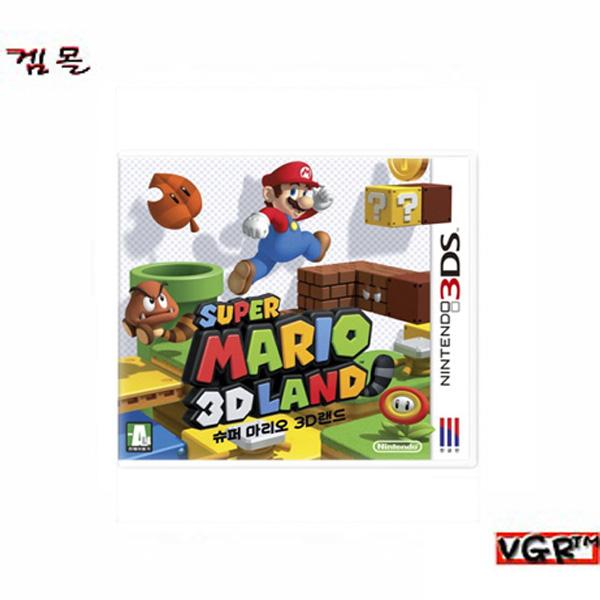 [3DS] 슈퍼마리오 3D랜드 한글   (밀봉)(정발)