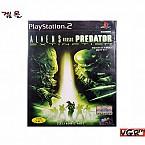 [PS2] 에일리언 VS프레데터 멸종의 위기 정식발매판 중고A급