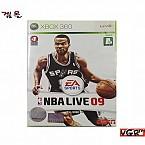 [XBOX360] NBA  LIVE 09 정식발매 중고 A급