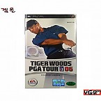 [PSP] TIGER WOODS PGA TOUR 06 정발판 중고A급