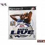 [PS2] NBA LIVE 2001  북미판 중고A급