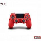[PS4]소니듀얼쇼크4 무선컨트롤러 색상 마그마 레드  (중고)(정발)