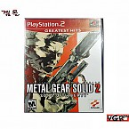 [PS2] METAL GEAR SOLID 2 북미판 중고A급