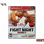 [PS2] FIGHT NIGHT ROUND 3 북미판 중고A급