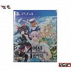 [PS4]  4 여신 온라인 한글   정식발매 중고A급