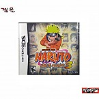 [NDS] NARUTO NINJA COUNCIL 3 북미판 중고A급