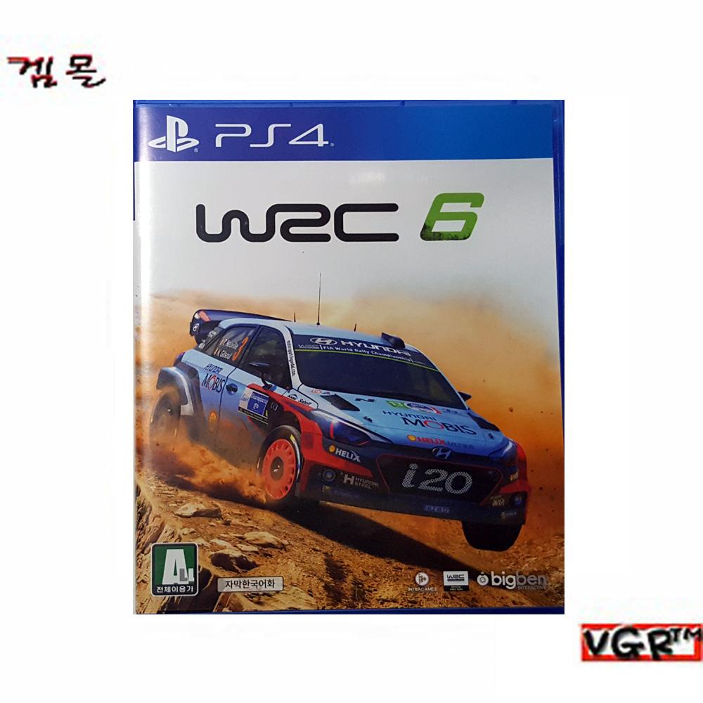 [PS4] WRC 6   정식발매 중고A급