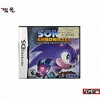 [NDS] SONIC CHRONICLES 북미판 중고A급