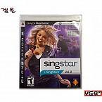 [PS3]  singstar Vol.2  북미판  중고 A급