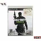 [PS3]  CALL OF DUTY MW 3  북미판  중고 A급