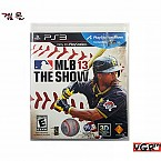 [PS3] MLB 13 THE SHOW    (중고A급)(북미)