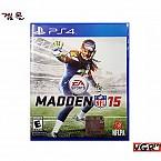 [PS4] MADDEN NFL 15 북미판 중고A급