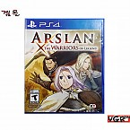 [PS4] Arslan: The Warriors of Legend 북미판 중고A급
