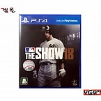 [PS4] MLB THE SHOW 18 정식발매판 중고A급