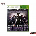 [XBOX360] SAINTS ROW THE THIRD - THE FULL PACKAGE 북미 중고 A급