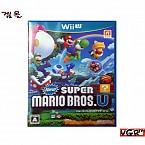 [Wii U] 슈퍼 마리오 브라더스 U 일판 중고A급